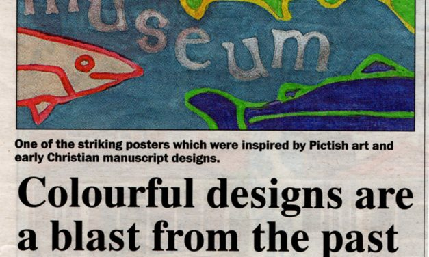 Fabulous posters by Fortrose Academy students