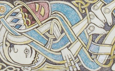 How would you use the George Bain Collection of Celtic art online?