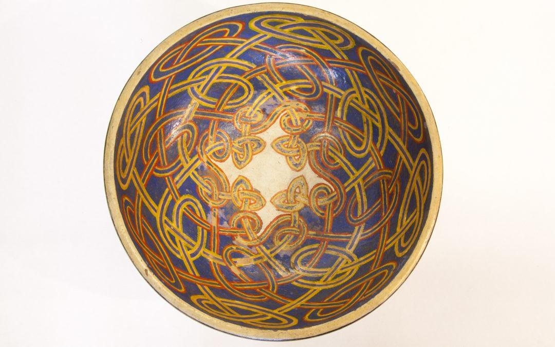 LISTEN: George Bain Celtic-design bowl PODCAST
