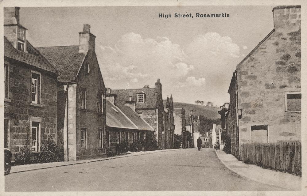 Rosemarkie High Street, probably 1930s