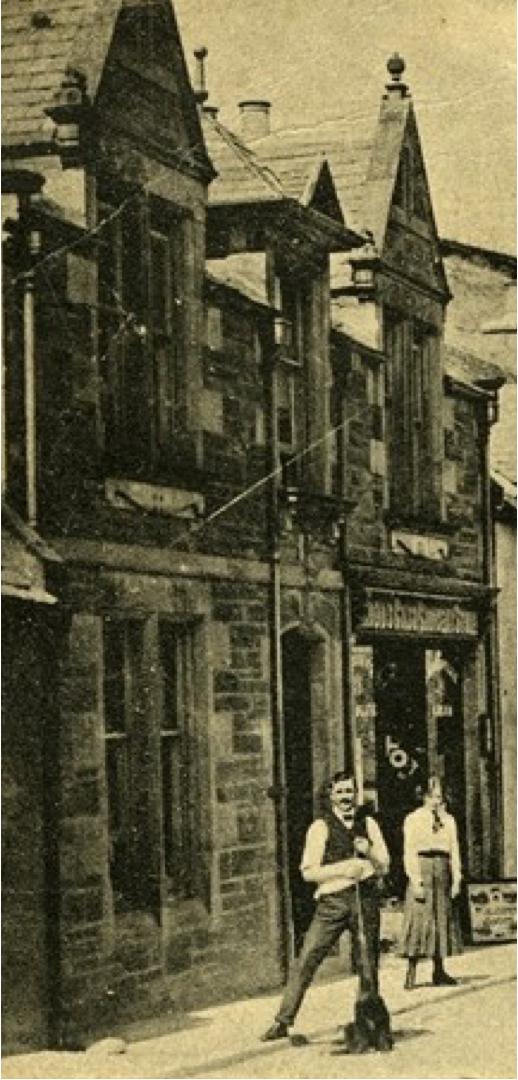 Image: Rosemarkie High Street  Date: c1910